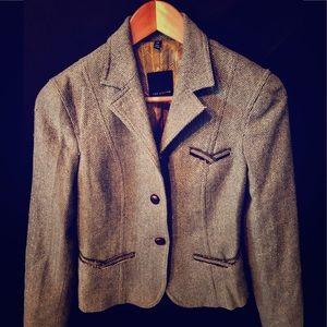 The Limited Blazer Jacket Green XS